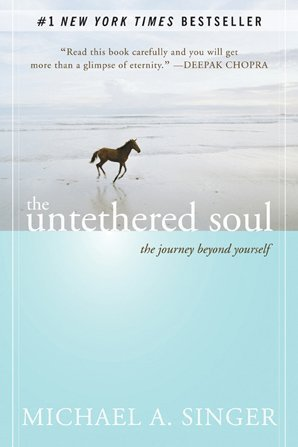 book club podcast - January selection, Untethered Soul by Michael A. Singer